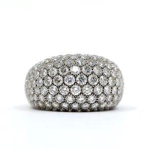 Van Cleef & Arpels 18k White Gold Diamond Ring